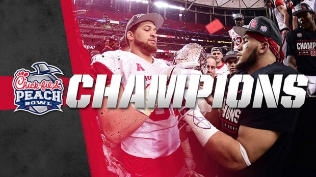 University of Houston Football Peach Bowl Champs